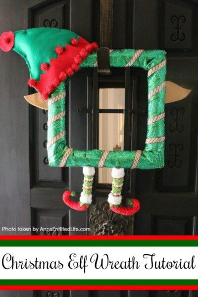 Christmas Elf Wreath Tutorial