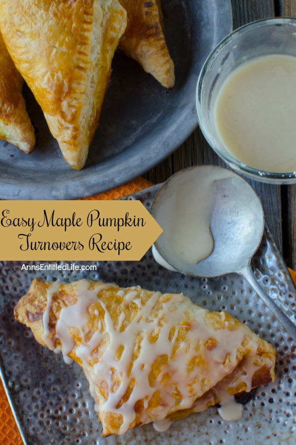 Easy Maple Pumpkin Turnovers Recipe. These amazing maple pumpkin turnovers are a wonderful breakfast treat you entire family will enjoy. Perfect for an on-the-go breakfast, packed in a lunchbox, or as a fabulous dessert, these pumpkin turnovers are a sweet and tasty delight.
