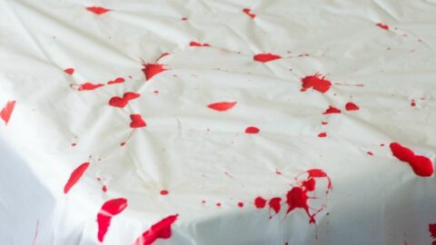 Zombie Blood Clot Tablecloth