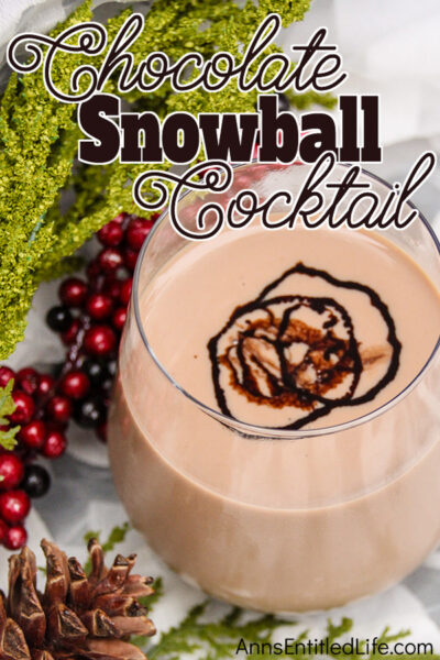 Chocolate Snowball Cocktail Recipe