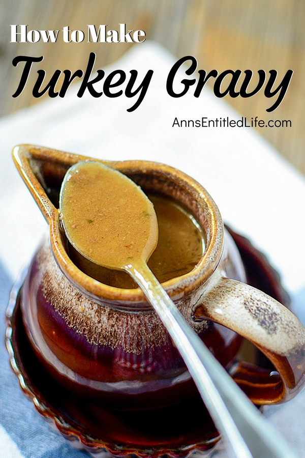 How to Make Turkey Gravy. Turkey gravy goes hand and hand with roasted turkey. Instead of buying canned or jarred turkey gravy the next time you make a bird, why not make your own? It is easier than you think!