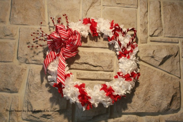 candy cane wreath by anns entitled life