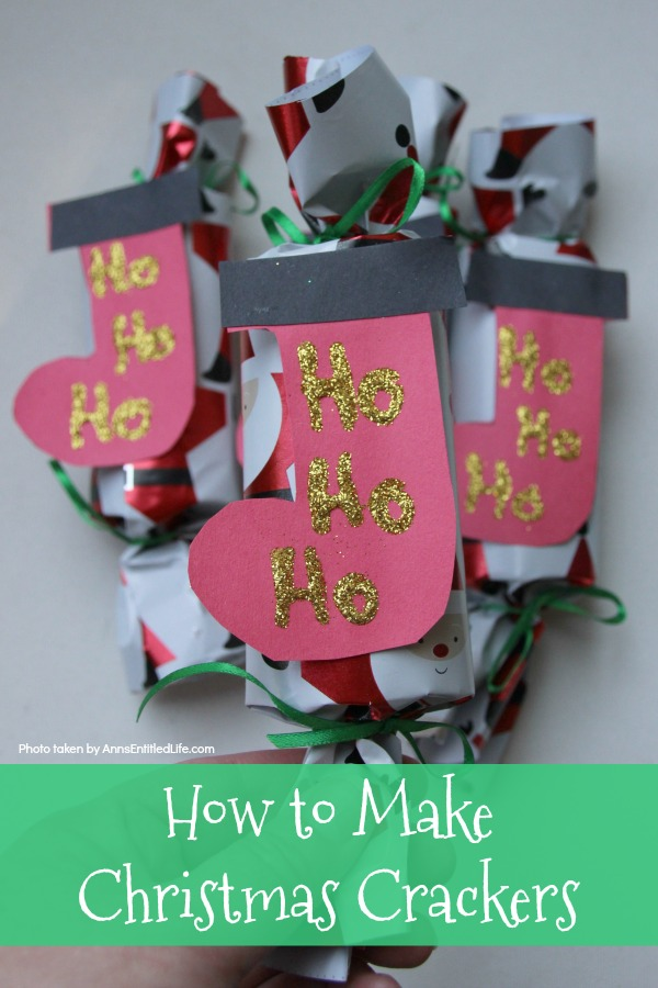 how to make christmas crackers you can easily make a home version of the popular