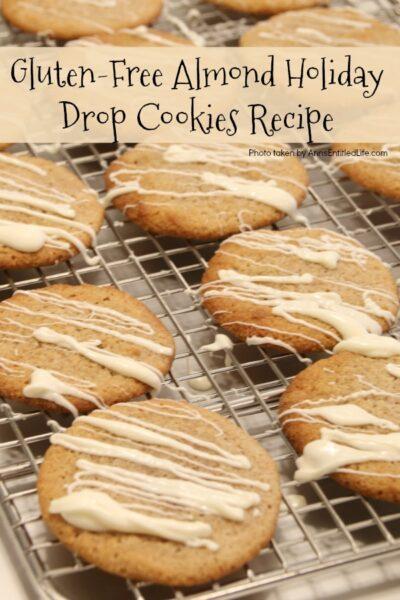Gluten-Free Almond Holiday Drop Cookies Recipe