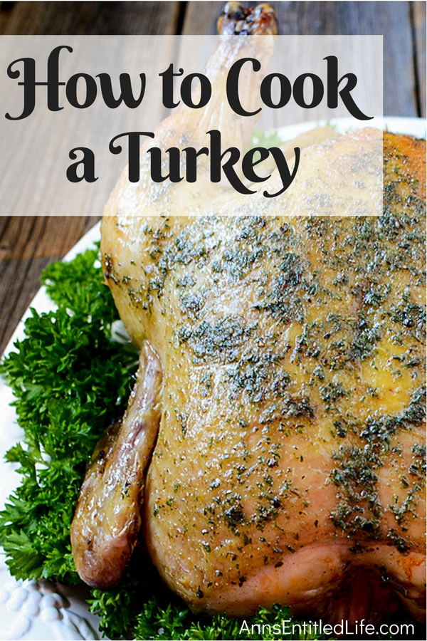 How to Cook a Turkey. Making a delicious turkey for the holidays is easier than you think. By following this simple step by step turkey roasting tutorial even the most novice cook will produce a tender, tasty and juicy bird sure to impress your guests!