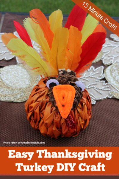 Easy Thanksgiving Turkey DIY Craft