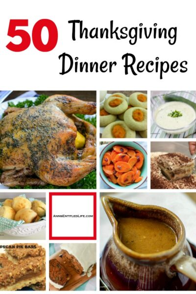 50 Thanksgiving Dinner Recipes