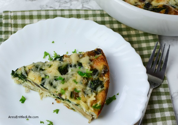 Artichoke and Cheese Frittata Recipe. This fabulous Artichoke and Cheese Frittata is a wonderful breakfast, or breakfast for dinner, recipe. Made with leftover vegetables this cheesy-good frittata is one the whole family will enjoy!