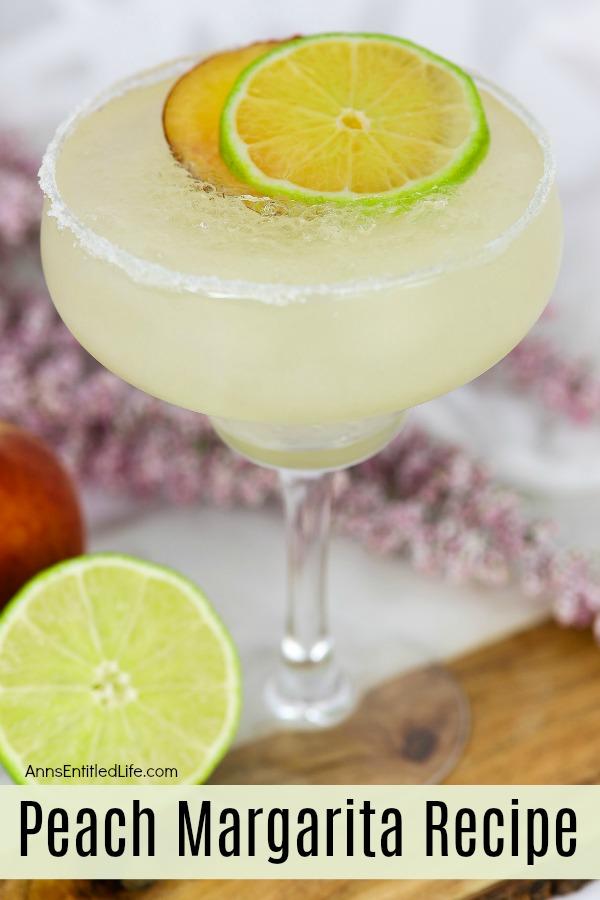 Peach Margarita Recipe