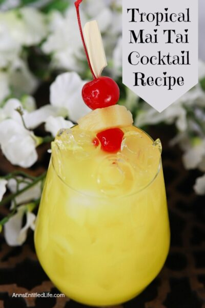 Tropical Mai Tai Cocktail Recipe