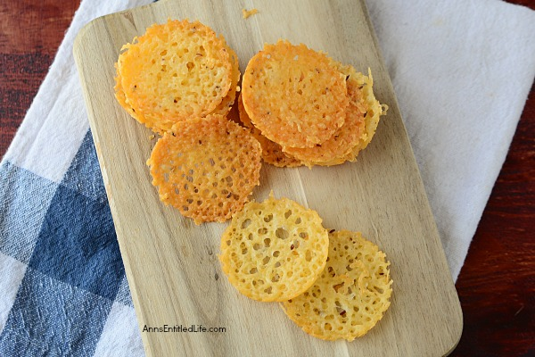 Low Carb Parmesan and Caraway Crackers Recipe. If you are on a low carb diet, or even if you're not, these easy to make Parmesan and caraway seed crackers are a delicious, simple to make, snack. In just a few minutes you can enjoy the great bite of Parmesan cheese with a dash of caraway in convenient cracker chip form. A fabulous low carb snack!