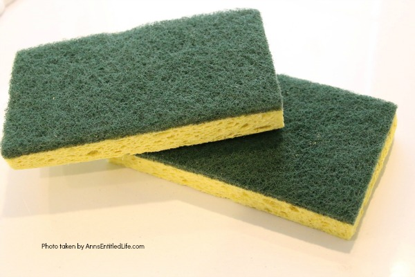 sponges on white surface