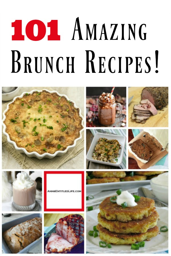 101 Brunch Recipes. No matter what the season, brunch is the best meal of the day!  From casseroles to quiche, frittatas to muffins, mimosas to fancy coffee recipes, there is an easy brunch recipe on this list perfect for your brunch menu. If you need a recipe for Easter brunch, Mother's Day, Christmas morning brunch or perhaps for a baby shower or bridal shower, these fabulous brunch ideas are ideal for the day.