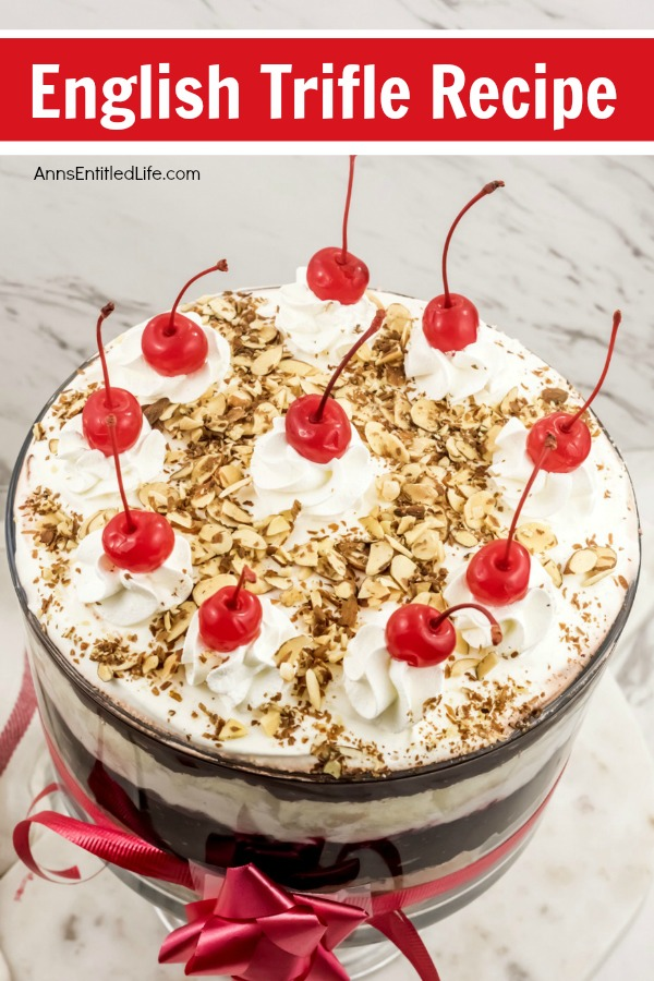 English Trifle Recipe. This classic trifle recipe is simply delicious! Making a traditional trifle recipe is easier than you think. The step-by-step instructions of this English Trifle Recipe come to easily resulting in a fabulous special occasion dessert.