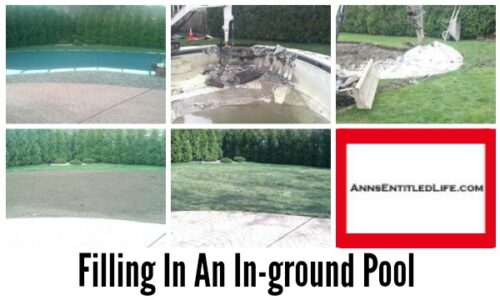Filling In An In Ground Pool