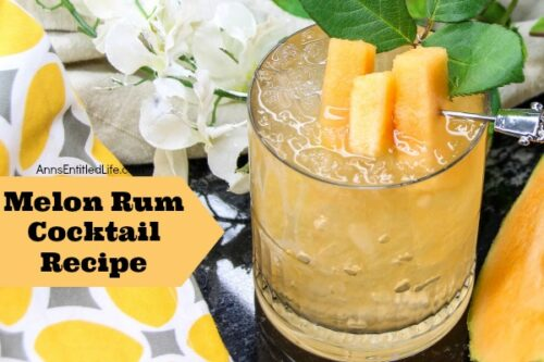 Melon rum cocktail recipe for Cocktail 333