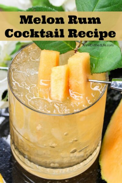 Melon Rum Cocktail Recipe