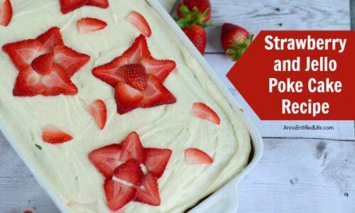 Strawberry Jello Cake Recipe From Scratch: Strawberry Jello Poke Cake Recipe