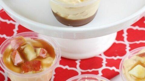 Caramel Apple Pudding Shots Recipe