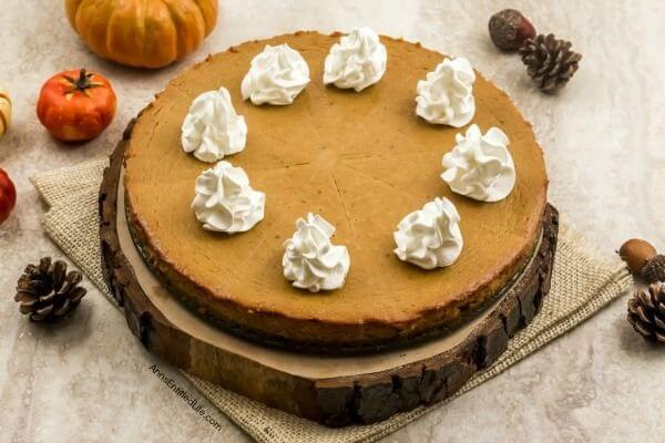 If you are looking for a fabulous pumpkin pie recipe without a crust, you will enjoy this amazing variation of a traditional pumpkin pie recipe. Crustless pies are all the rage - same great pie taste, less calories and carbs by foregoing the crust. Crustless pies are easy enough to make using a springform pan, just read the step by step crustless pumpkin pie recipe I am sharing below to make your own terrific crustless pumpkin pie!