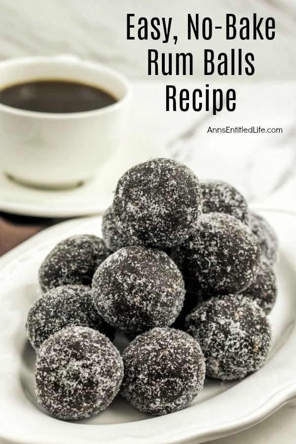 Rum Balls Recipe. These delicious rum balls are a fabulous addition to your holiday cookie tray! Fast and simple to make, this rum balls recipe is an easy, no-bake treat that friends and family will adore. If you are looking for a great traditional holiday cookie, try these scrumptious little rum balls.