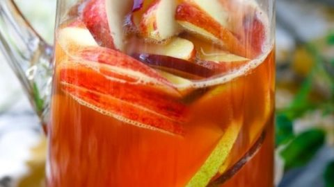 Sparkling Fall Harvest Punch Recipe