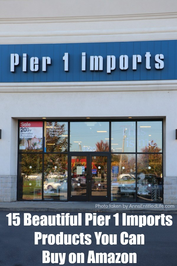 Pier 1 Imports is a great place to find tons of unique decorative items for your home. And if you are a fan of this fun home store, I have great news for you! You can now buy a variety of amazing Pier 1 products on Amazon thanks to their new Amazon shop.