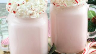 Boozy Candy Cane Shake Recipe