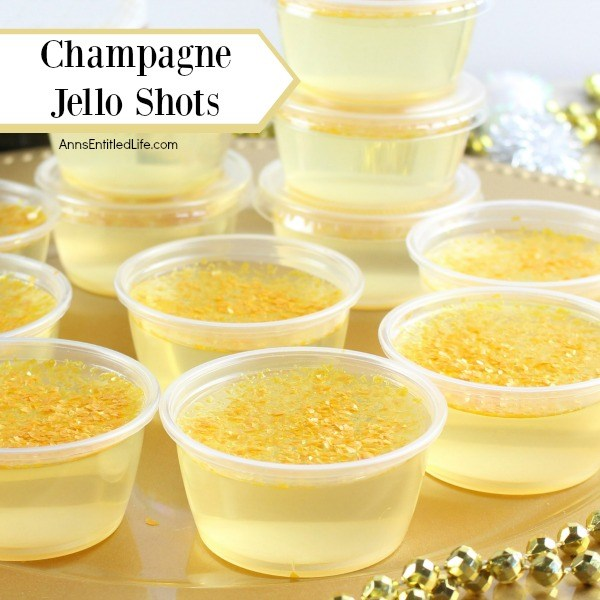 Champagne Jello Shots Recipe. Fancy Jello shots don't have to be difficult to make! These step-by-step tutorial instructions for making a delicious and fun Champagne Jello Shots recipe are so easy to follow; the results are amazing!! The next time you are having an adult celebration or party, make some champagne Jello shots and up the fun in your festivities!
