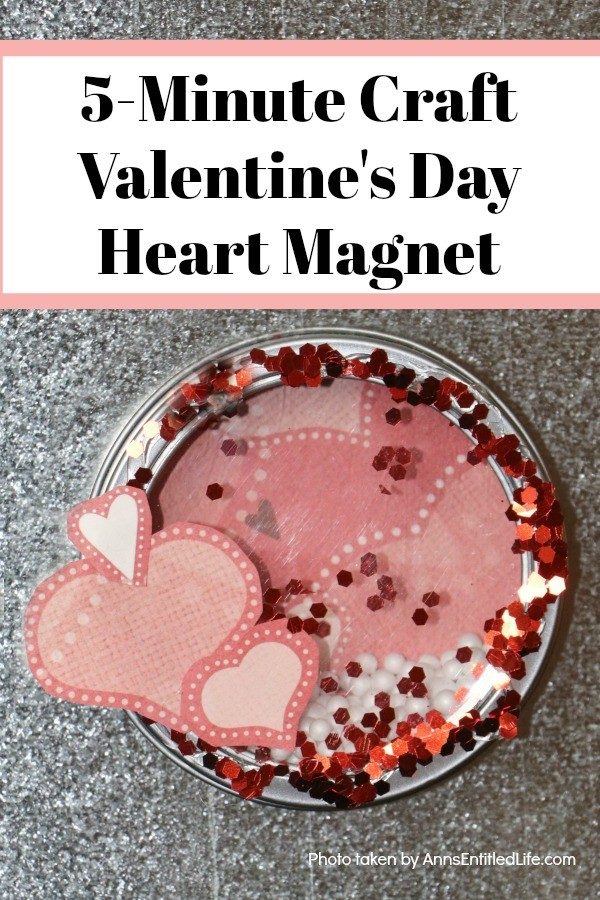 5 Minute Craft Valentine S Day Heart Magnet