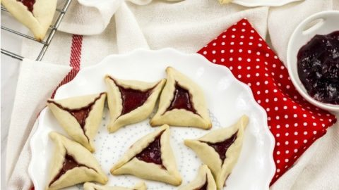 Jam Filled Cream Cheese Cutout Cookies Recipe