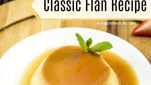 Classic Flan Recipe. This flan recipe has been updated slightly to make it simple to cook dessert recipe. A traditional flan recipe is a wonderful egg-based dessert that is smooth, sweet goodness in every tasty bite; a custard caramel treat that is simply delicious.