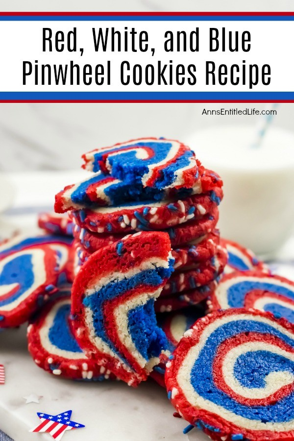 Red, White, and Blue Pinwheel Cookies Recipe. These fabulous red, white, and blue cookies are perfect for the 4th of July, Memorial Day, or any other patriotic holiday. Whether you are packing a picnic, having a backyard BBQ, or want something special to take to an Independence Day gathering, these terrific cookies - that can be frozen (raw) for up to three months prior to baking - are what your holiday celebration needs!
