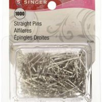 SINGER 01349 Straight Pin, 1000-Pack