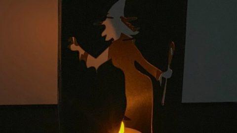 Easy Cricut Halloween Lanterns