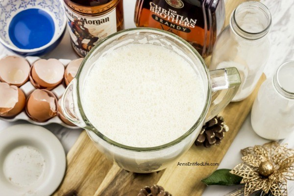 Homemade Eggnog Recipe. Eggnog is a delicious, traditional holiday drink, and this homemade eggnog recipe makes a fabulously rich, tasty, fresh eggnog you can whip up in minutes. This homemade eggnog recipe is truly the best eggnog you will ever have!! Make this eggnog this holiday season. Yum!