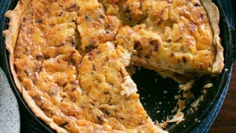 Sweet Potato and Bacon Quiche Recipe