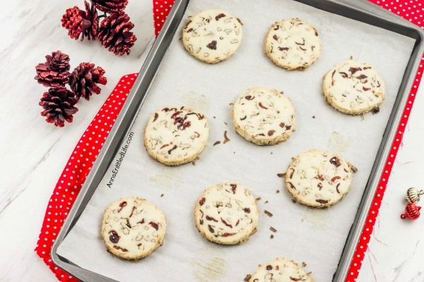 Cranberry Noels Cookie Recipe. Slightly chewy, slightly crunchy and  totally delicious, these Cranberry Noels Cookies are a wonderful holiday cookie, perfect for a snack, after dinner dessert or as a welcome addition to a holiday cookie tray.