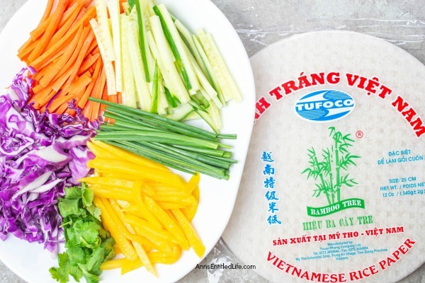 Rainbow Spring Rolls with Sweet and Spicy Dipping Sauce. These rainbow spring rolls are beautiful, delicious, and easy to make! Packed with fresh vegetables and dunked into the sweet and spicy dipping sauce, these spring rolls are a perfect snack, appetizer, or compliment to your dinner entrée. Yum!
