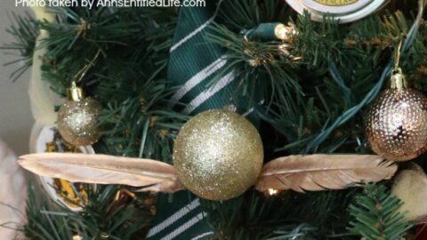 5 Minute Craft: Golden Snitch Ornament
