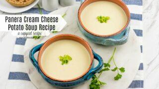 Copycat Panera's Cream Cheese Potato Soup