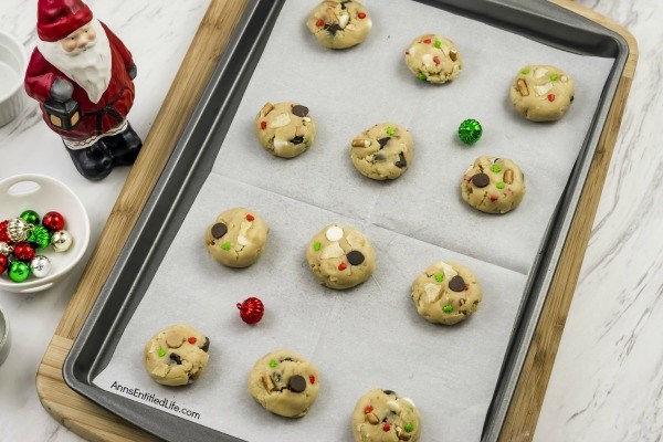 Santa's Trash Cookies Recipe. This holiday treat contains a little bit of everything including chocolate chips, white chocolate chips, and crushed potato chips in a perfect combination! These Santa's Trash Cookies will melt in your mouth with the perfect mixture of salty and sweet flavors. The next time you are looking for an easy-to-make drop cookie, try this excellent Santa's Trash Cookies recipe.
