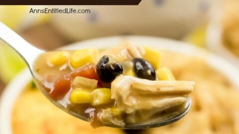 Chicken Enchilada Soup Recipe
