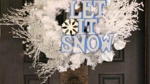 Let It Snow Wreath