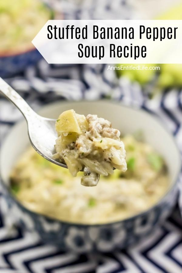 Stuffed Banana Pepper Soup Recipe. This stuffed banana pepper soup recipe is simply fabulous. Spring, summer, winter or fall, this delicious soup makes for a great lunch or dinner, or a great soup course. Slightly spicy, slightly cream, totally flavorful stuffed banana soup recipe is one your whole family will enjoy.