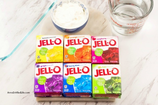 Ribbon Salad Recipe. This Jello Ribbon Salad will take you back a few years with its colorful layers of fun. Layers of sour cream and six flavors of jello make up this old fashioned, and classic, salad. A great side dish or dessert for barbecues or any type of get together.
