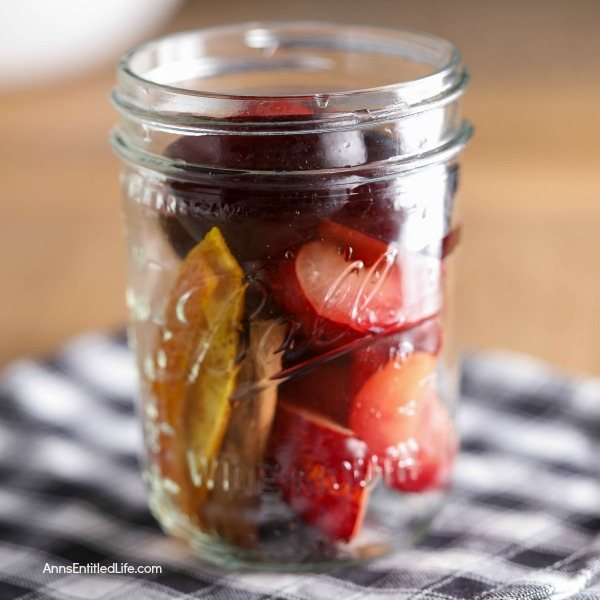Canned Spiced Port Plums Recipe. Canning plums is a delicious way to preserve your fresh fruit plums for later use. This terrific spiced port plums water bath canning recipe is a great way to process your plums for later use. Can now, eat later!