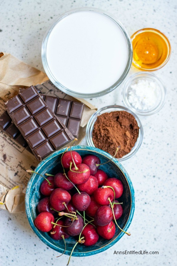 No-Bake Chocolate Cherry Fudge Recipe. This delicious, beautiful chocolate cherry fudge recipe is no-bake, vegan, and simple to make. If you have fresh cherries you will want to make this fantastic fudge recipe for your friends and family tonight.