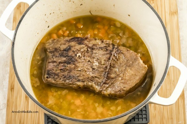 Sauerbraten Recipe. This tasty Sauerbraten is made using a traditional Sauerbraten recipe with a twist and a secret ingredient from Oma! Tender, flavorful, simple to make, and totally delicious, this fabulous roast starts with a fantastic marinade. Your friends and family will be asking for more!