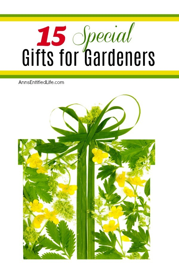 A yellow and green floral gift box against a white background.